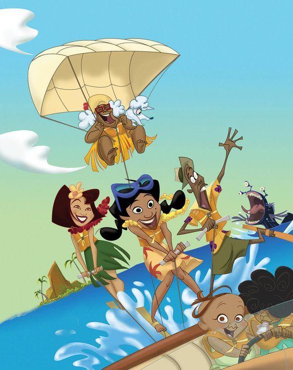 Die Prouds - Der Inselabenteurfilm - Bildquelle: Buena Vista International Television