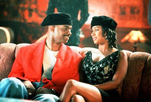 Mo' Money - Meh' Geld - Kleingauner Johnny (Damon Wayans, l.) verliebt sich i...