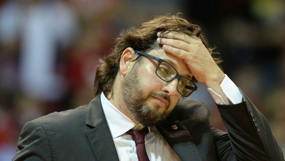 Brose Bamberg kassiert eine Niederlage gegen ZSKA Moskau - Bildquelle: AFPSIDCHRISTOF STACHE