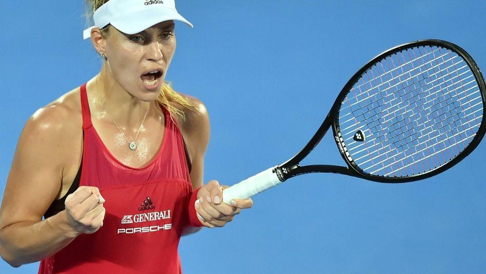WTA-Turnier in Sydney: Kerber steht im Finale - Bildquelle: AFPSIDPETER PARKS