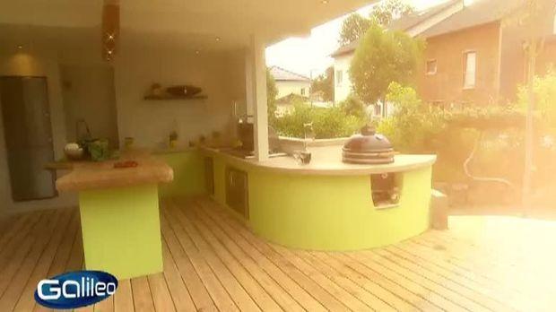 galileo video do it yourself outdoor k che prosieben. Black Bedroom Furniture Sets. Home Design Ideas