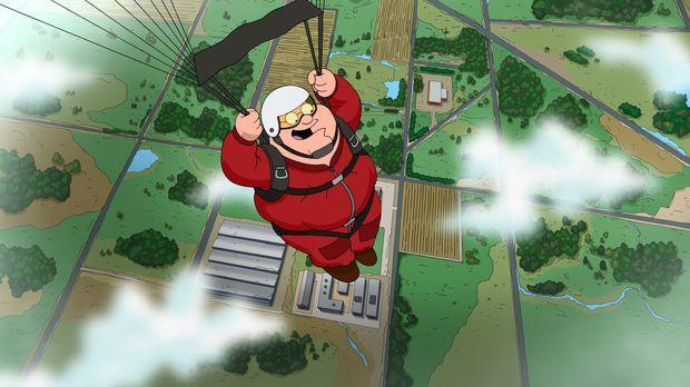 Peters neues Hobby Fallschirmspringen führt unweigerlich dazu, dass er sich b...