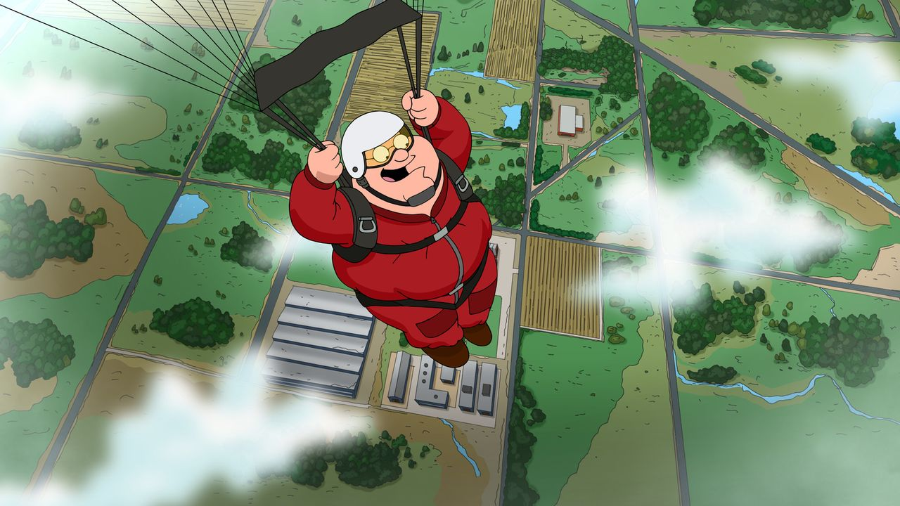 Peters neues Hobby Fallschirmspringen führt unweigerlich dazu, dass er sich bei einem Absturz böse verletzt und im Krankenhaus landet ... - Bildquelle: 2013 Twentieth Century Fox Film Corporation. All rights reserved.