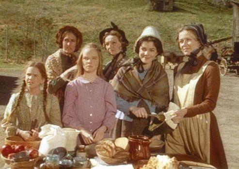 Unsere kleine Farm - Die Frauen des Dorfes haben für reichhaltige und kulinar...