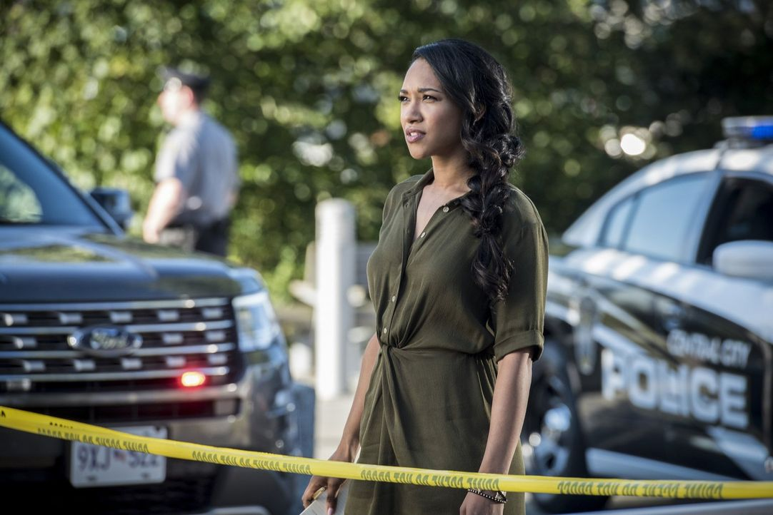 Wie sieht das Verhältnis zwischen Iris (Candice Patton) und Barry in der veränderten Zeitschiene aus? - Bildquelle: 2016 Warner Bros.