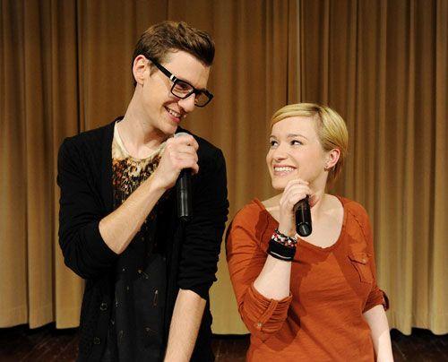 Hotte und Emma legen sich auf der Bühne voll ins Zeug. - Bildquelle: Christoph Assmann - Sat1