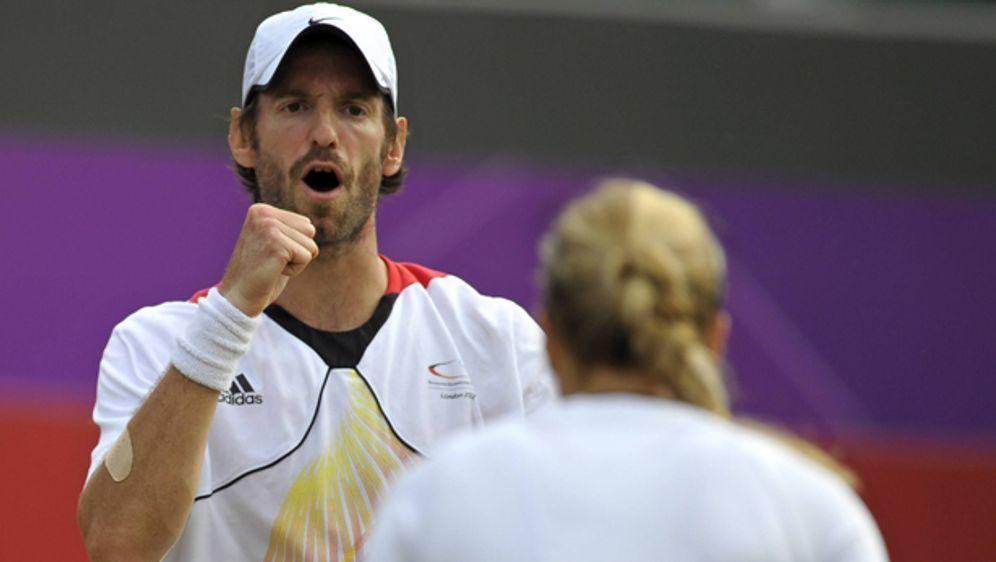 Sabine Lisickis neuer Coach: Ex-Mixed-Partner Christopher Kas. - Bildquelle: imago sportfotodienst