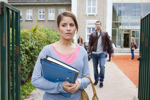 Hand aufs Herz - Bens Liebesgeständnis macht Bea (Vanessa Jung, l.) schwer zu...