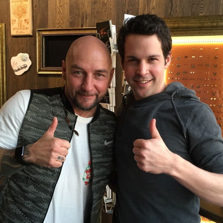 Victor Mids mit Daniel Krause