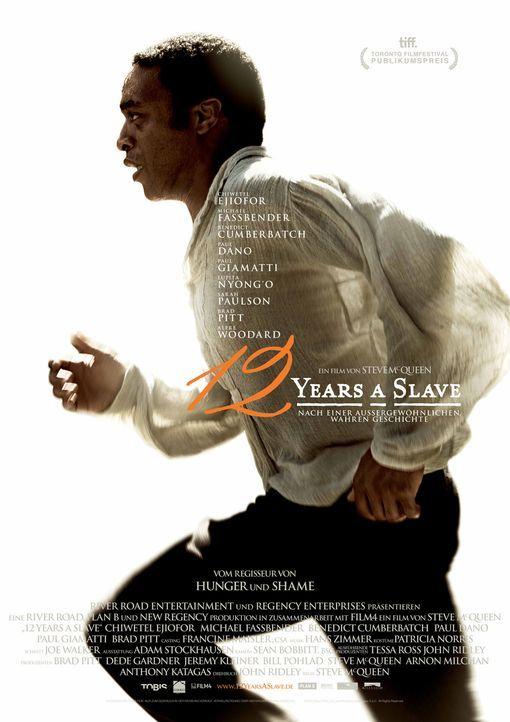 12 YEARS A SLAVE - Plakat - Bildquelle: TOBIS FILM