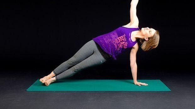 Frau-Fitnessübung