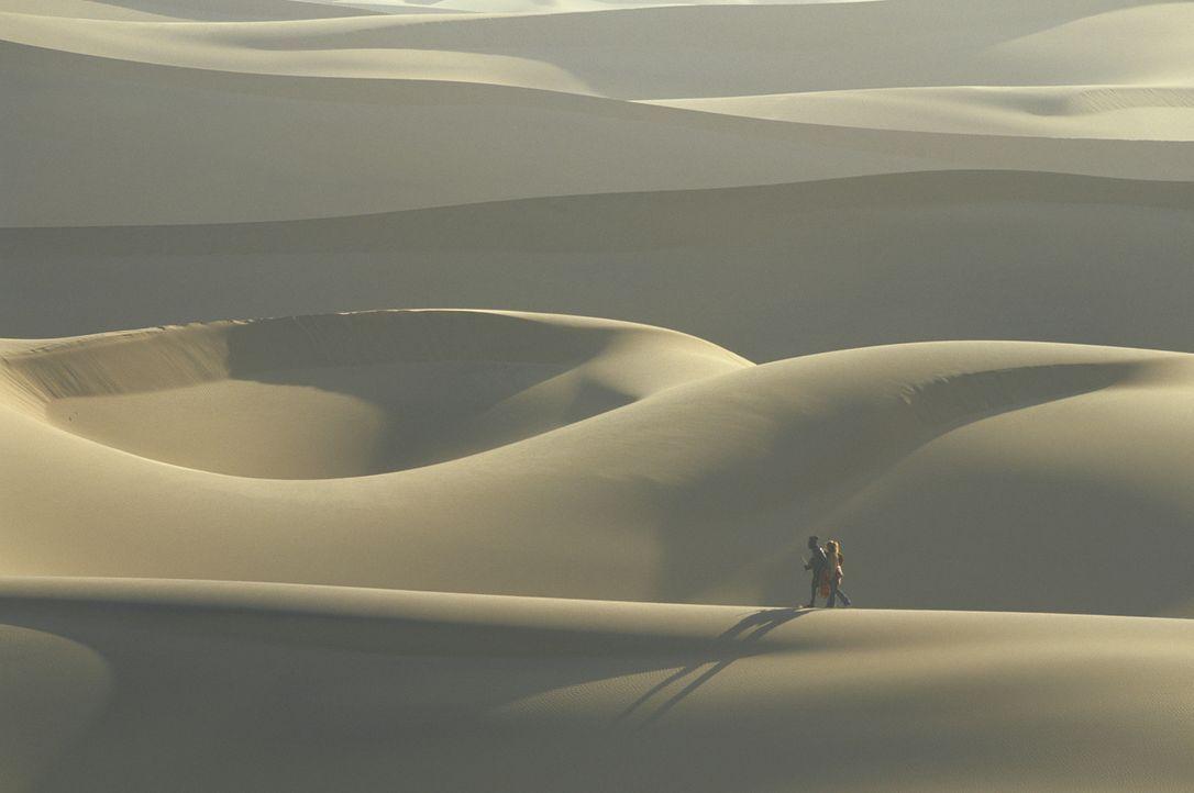 Wagen das Unmögliche: Grace und Himba Kadjiro durchqueren die namibische Wüste, um Gary zu retten ... - Bildquelle: Gaumont