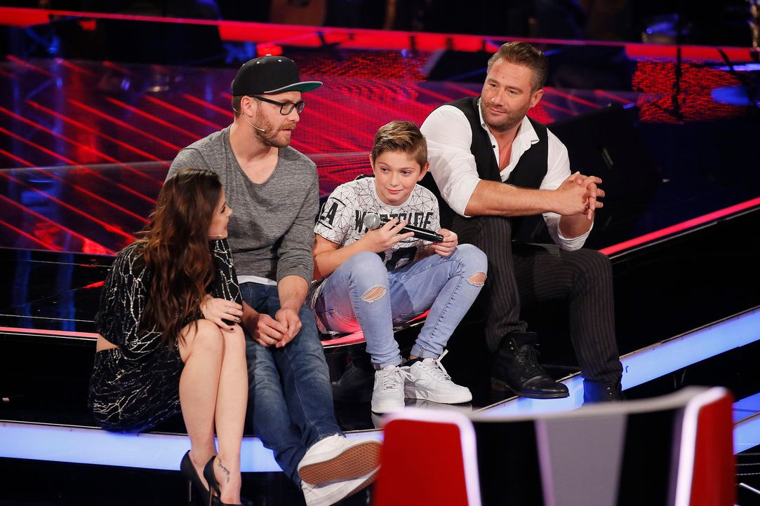 The-Voice-Kids-Stf04-Epi03-Jaimy2-SAT1-Richard-Huebner - Bildquelle: SAT.1/ Richard Hübner
