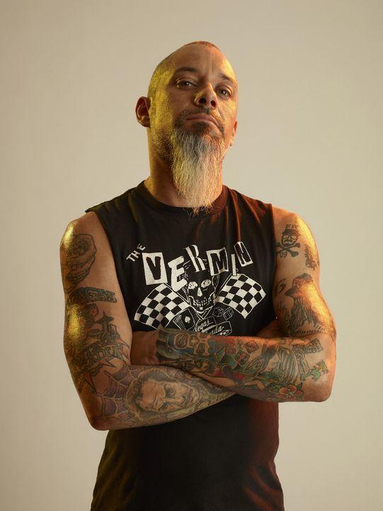 Hilft seinem Kumpel Dirk bei der Suche nach Tattoo-Katastrophen in Las Vegas: Ruckus (Bild) ... - Bildquelle: 2013 A+E Networks, LLC