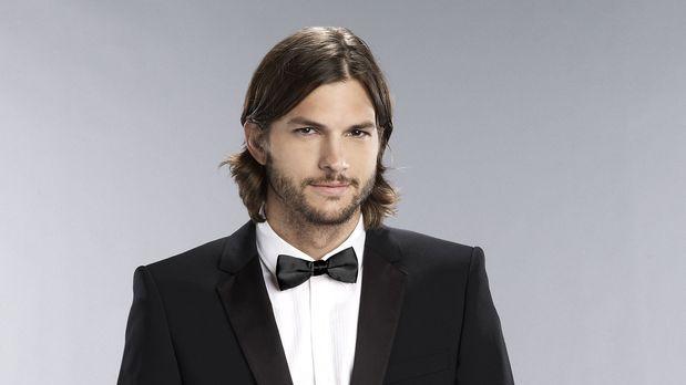 "Ashton Kutcher spielt in ""Two and a half Men"" Walden Schmitt"