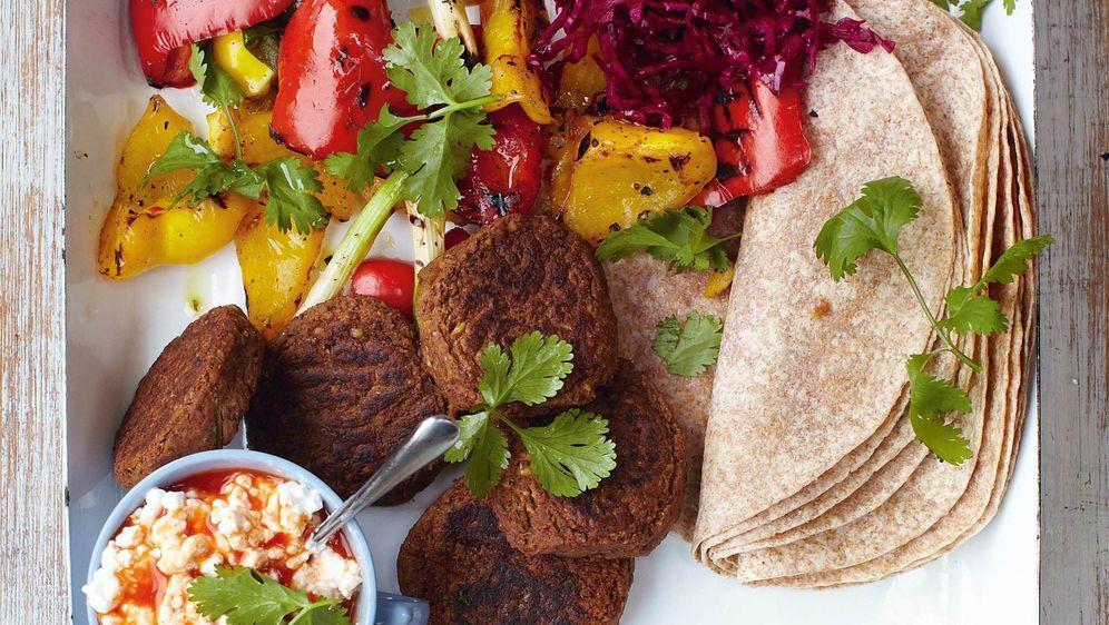 Falafel-Wraps: Ein Rezept von Jamie Oliver