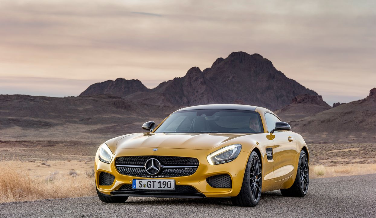 Mercedes AMG GT (15) - Bildquelle: press photo, do not use for advertising purposes