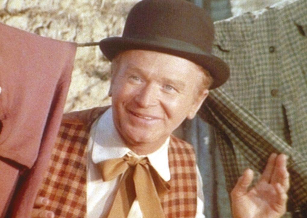 Die Ingals haben einen neuen Nachbarn: den Gaukler Mr. O' Hara (Red Buttons). - Bildquelle: Worldvision
