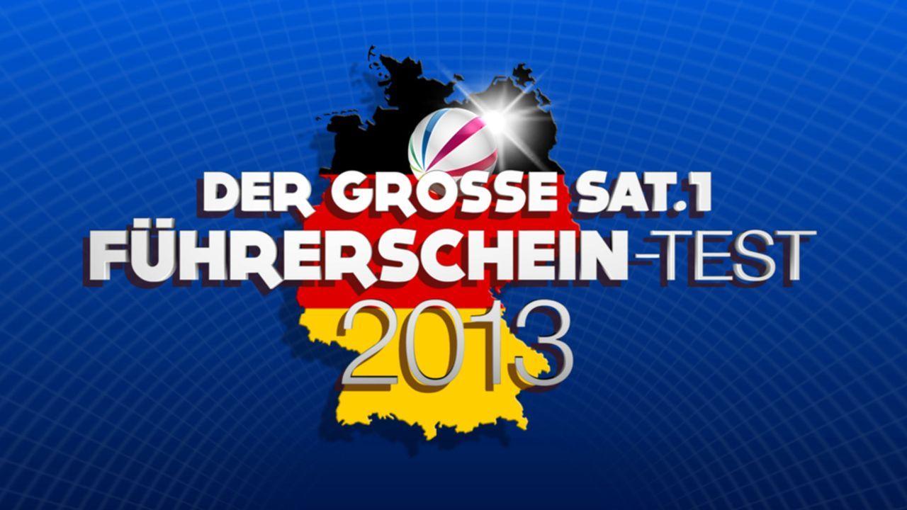 Der große SAT.1 Führerschein-Test 2013 - Logo - Bildquelle: SAT.1