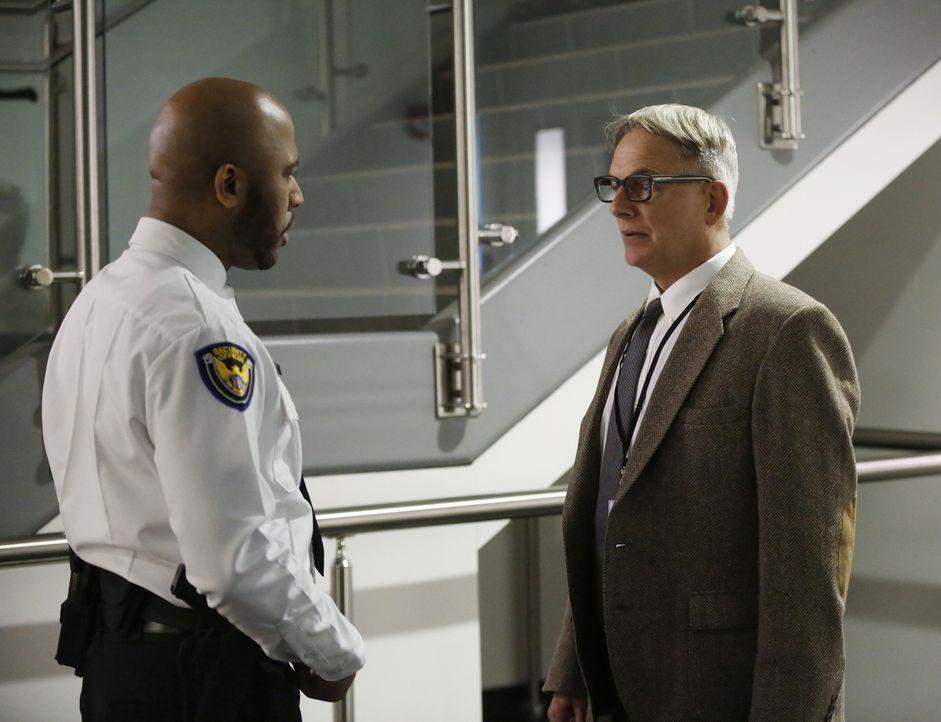 Bei den Ermittlungen in einem neuen Fall, macht Gibbs (Mark Harmon, r.) eine erschreckende Entdeckung ... - Bildquelle: CBS Television