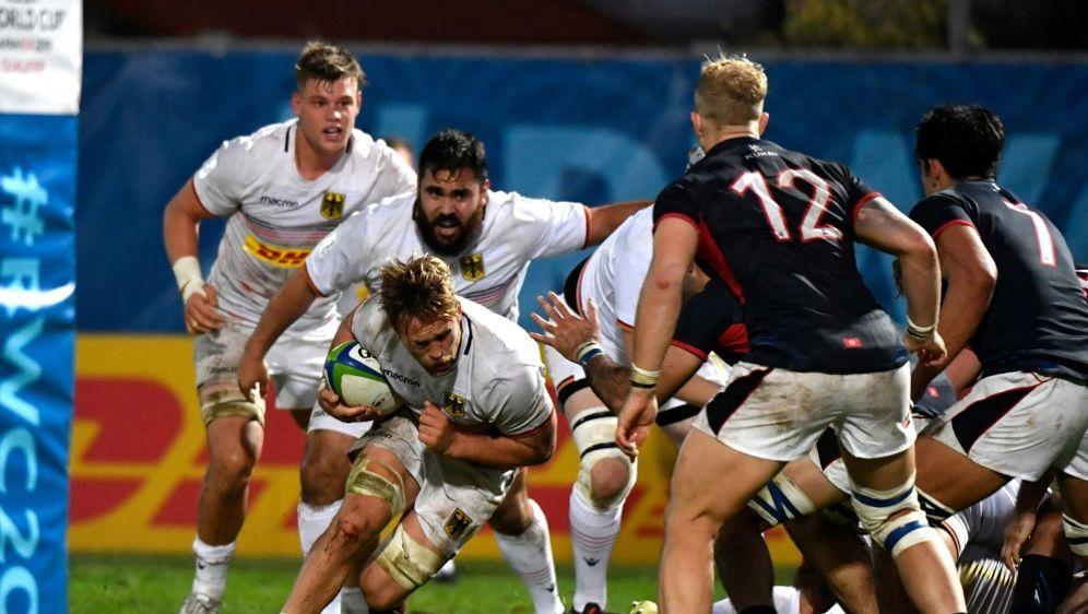 Die deutsche Rugby-Mannschaft besiegt Hong Kong mit 26:9 - Bildquelle: AFPAFPGERARD JULIEN