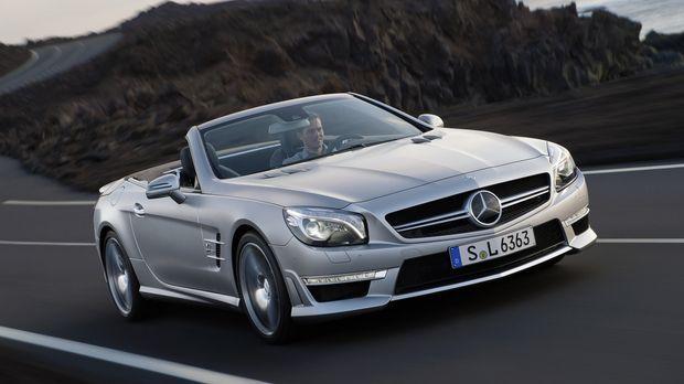 Kaum ist der neue Mercedes SL zum 60. Geburtstag an den Start gegangen, legen...
