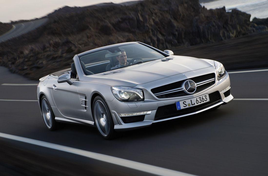 Kaum ist der neue Mercedes SL zum 60. Geburtstag an den Start gegangen, legen die Stuttgarter schon nach: Der SL 63 AMG ist vermutlich einer der sch... - Bildquelle: kabel eins