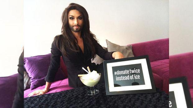 ice bucket challenge ohne conchita wurst keine lust auf. Black Bedroom Furniture Sets. Home Design Ideas
