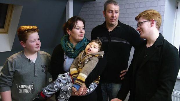 traumhaus oder raus video famili re zerrei probe herausforderung behindertengerecht. Black Bedroom Furniture Sets. Home Design Ideas