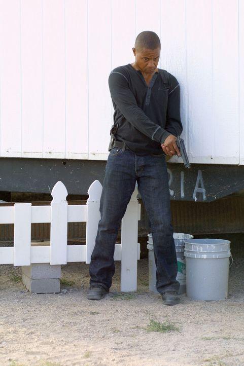 """In seiner Jugend war der Border Patrol Cop Michael Dixon (Cuba Gooding jr.) unter dem Namen """"Mad Dog"""" Führungsmitglied einer Streetgang. Jetzt woll... - Bildquelle: 2008 Worldwide SPE Acquisitions Inc. All Rights Reserved."""