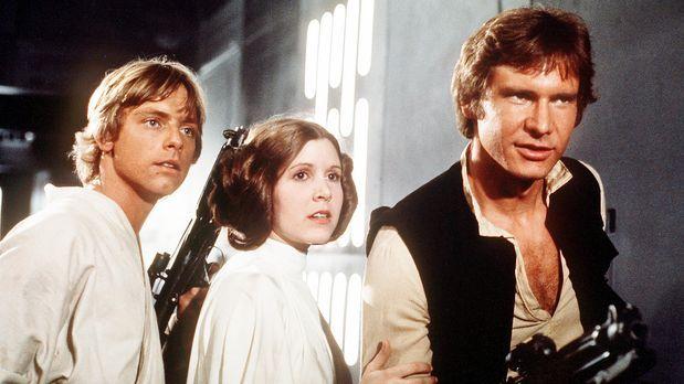 """Harrison Ford in """"Die Rückkehr der Jedi-Ritter"""" (1983) - Bildquelle..."""