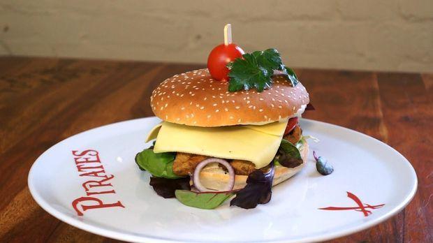 gyros burger mit tzatziki butterk se rezept so sieht 39 s aus. Black Bedroom Furniture Sets. Home Design Ideas