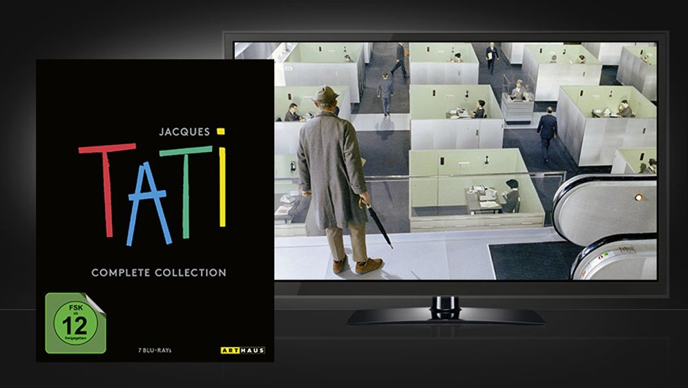Jacques Tati Complete Collection - Bildquelle: Arthaus