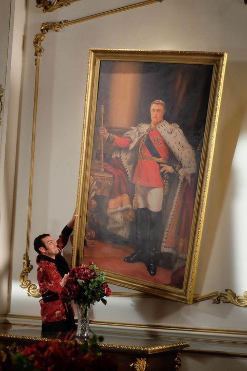 Versucht alles, um das Vermächtnis von König Simon zu zerstören: König Cyrus (Jake Maskall) ... - Bildquelle: 2015 E! Entertainment Media LLC/Lions Gate Television Inc.