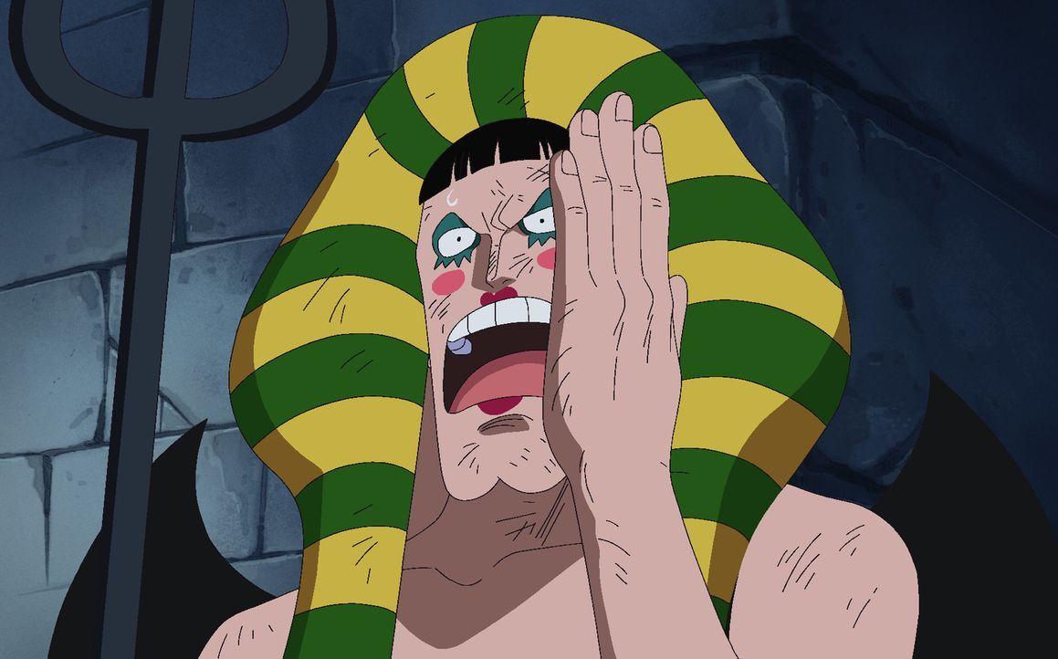 Ruffy stellt sich dem scheinbar aussichtslosen Kampf gegen Gefängnisleiter M... - Bildquelle: Eiichiro Oda/Shueisha, Toei Animation