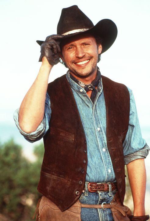 Aus Mitch Robbins (Billy Crystal) ist endlich ein ganzer Kerl geworden. Seit ihm das Cowboy-Rauhbein Curly bei seinem turbulenten Westernabenteuer v... - Bildquelle: Warner Bros.