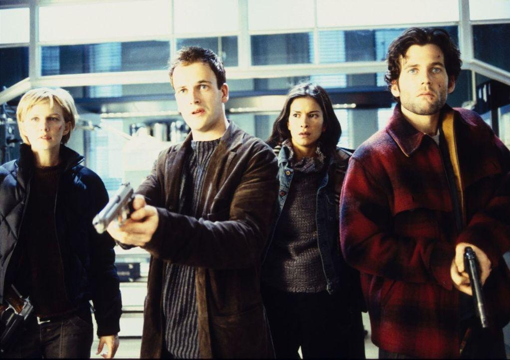 Die jungen FBI Agenten werden auf eine einsame Insel geflogen, um den letzten Schritt in ihrer Ausbildung als Profiler zu bewältigen. Dort sollen si... - Bildquelle: Tobis Film