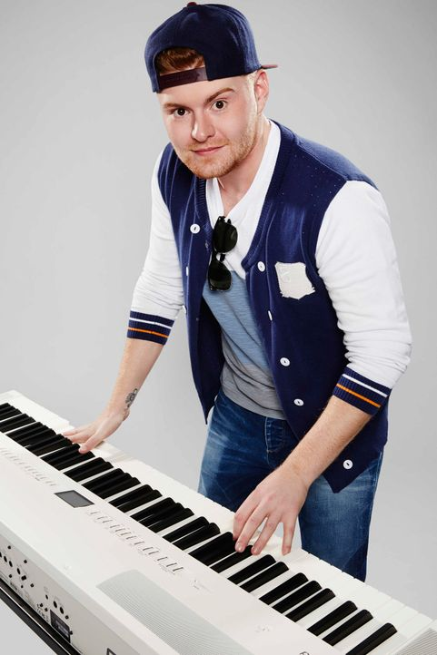 Die-Band-Keyboarder-Edwin01-ProSieben-Richard-Huebner - Bildquelle: ProSieben/Richard Hübner