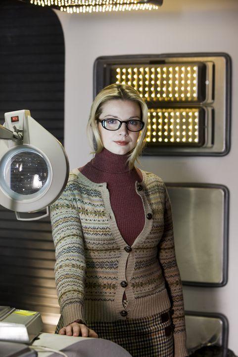 Was führt April (Janice Byrne) im Schilde? - Bildquelle: ITV Plc
