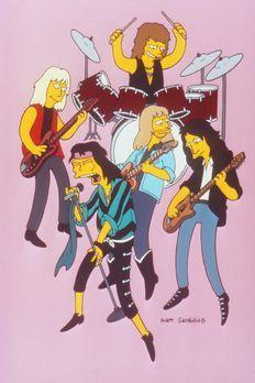 Die Simpsons - Moes Kneipe platzt aus allen Nähten. Sogar die Musikgruppe 'Ae...