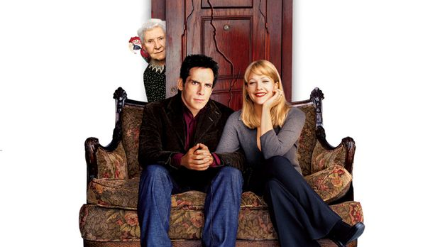 Der Appartement-Schreck - Artwork (mit Ben Stiller, M., Drew Barrymore, r. un...