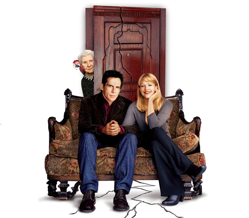 Der Appartement-Schreck - Artwork (mit Ben Stiller, M., Drew Barrymore, r. und Eileen Essel, l.) - Bildquelle: Michaels Darren Miramax Films.  All Rights Reserved.