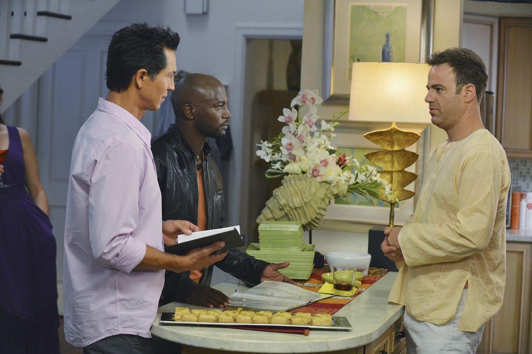 Während Sheldon einen suizidgefährdeten Patienten berät, der ihm zuvor eine schockierendes Bekenntnis offenbart hat, nehmen Jack (Benjamin Bratt,... - Bildquelle: ABC Studios