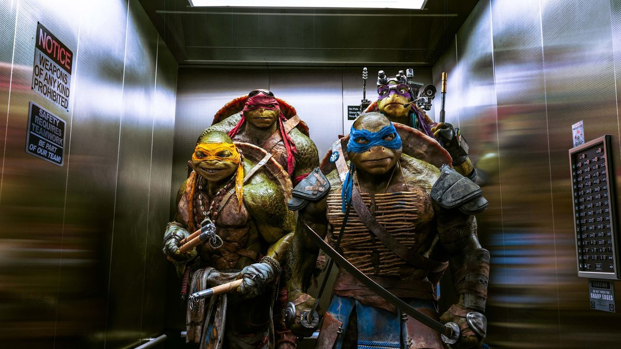 Teenage Mutant Ninja Turtles - Bildquelle: MMXIV Paramount Pictures Corporation