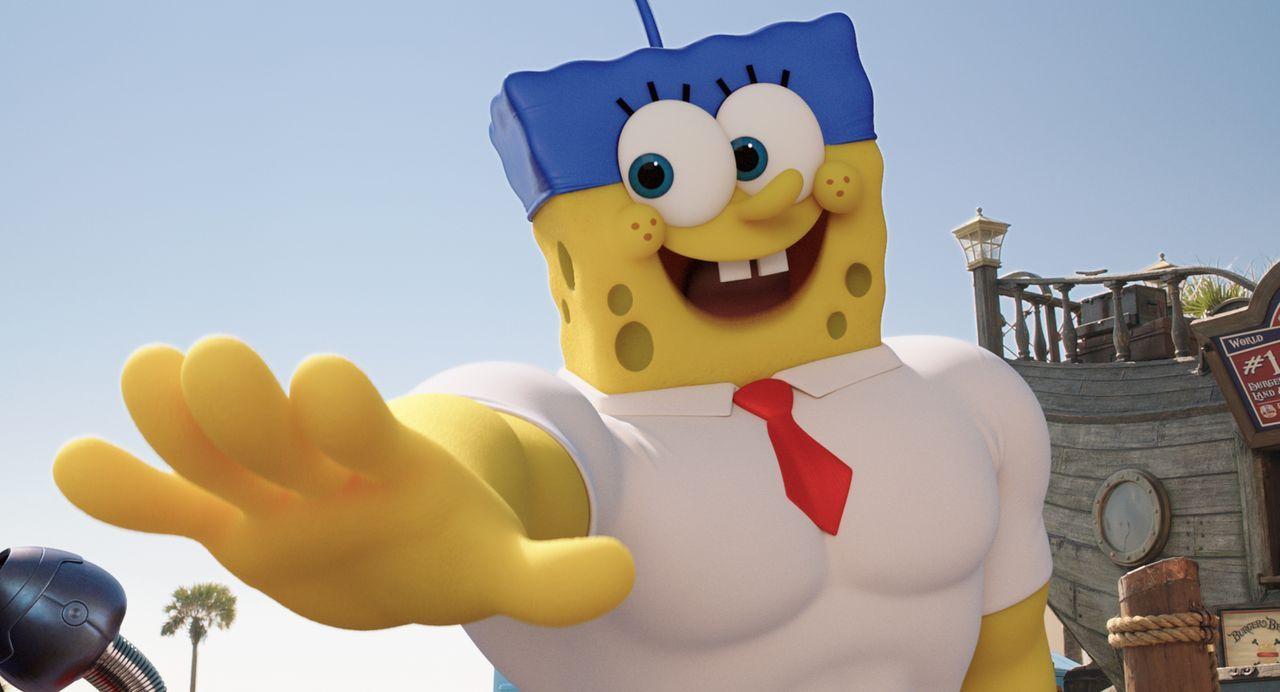 Ohne das geheime Krabbenburger-Rezept, das geklaut wurde, ist Bikini Bottom für immer verloren. Spongebob, der selbst verdächtigt wird, muss jenseit... - Bildquelle: (2016) Paramount Pictures and Viacom International Inc. All Rights Reserved. SPONGEBOB SQUAREPANTS is the trademark of Viacom International Inc.