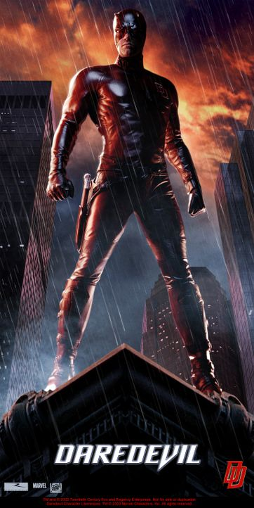 Nacht für Nacht zieht Daredevil (Ben Affleck) durch die Straßen von New York, um für Recht und Ordnung zu sorgen ... - Bildquelle: 20th Century Fox