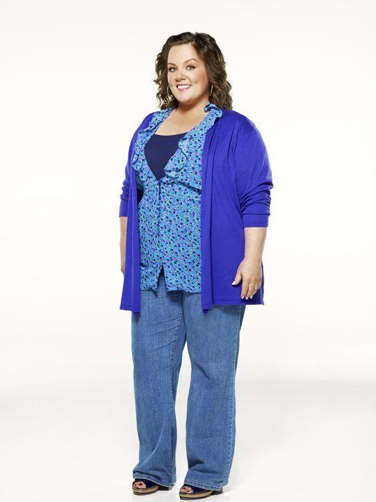 (1. Staffel) - Die Grundschullehrerin Molly Flynn  (Melissa McCarthy) leidet unter ihrem Übergewicht, zumal sowohl ihre Mutter  Joyce, als auch ihre... - Bildquelle: 2010 CBS Broadcasting Inc. All Rights Reserved.