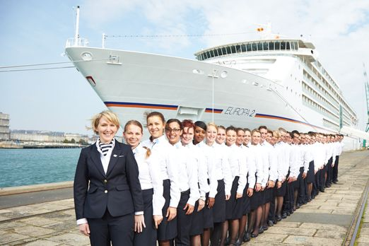"""24 Stunden - Luxus auf hoher See: Die """"MS Europa 2"""" soll ihren insg..."""