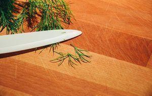 Kräutermesser-Schneidebrett