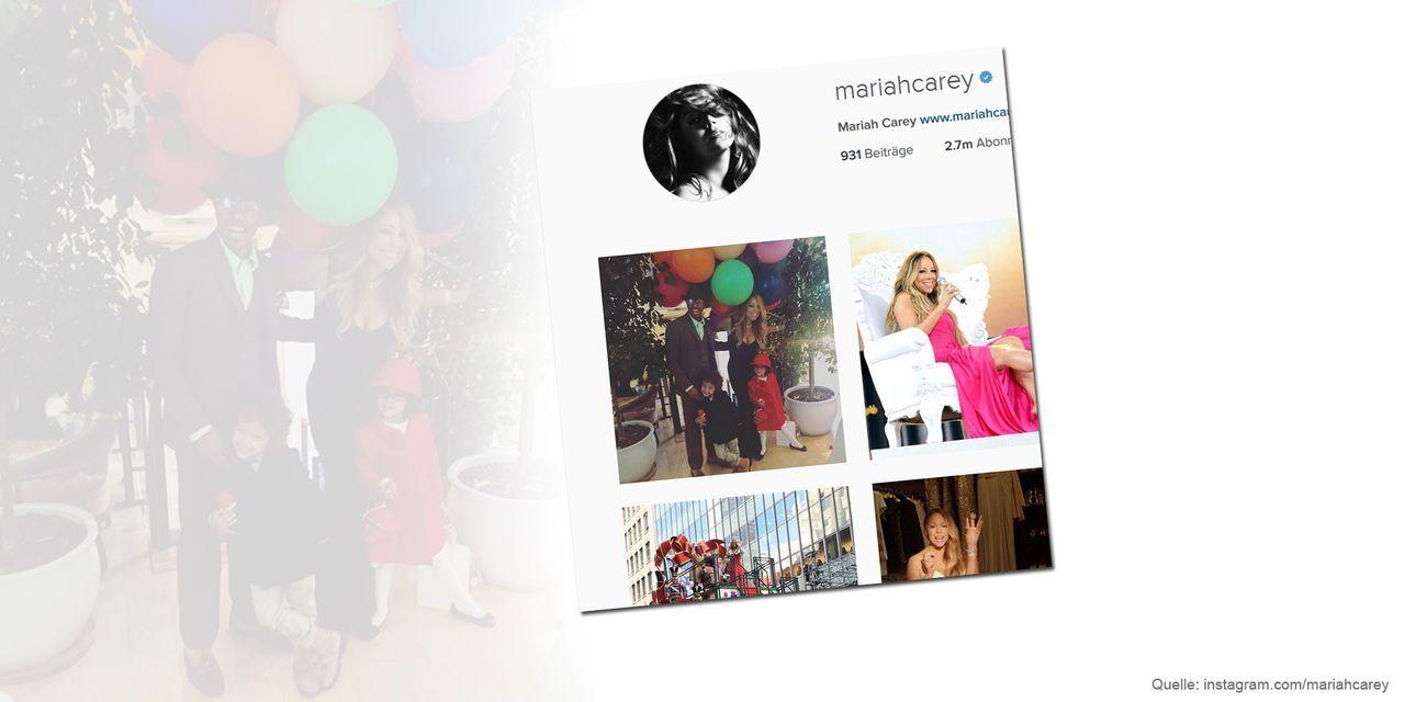 Thanksgiving-mariah-carey-instagram-com-mariahcarey - Bildquelle: instagram.com/mariahcarey